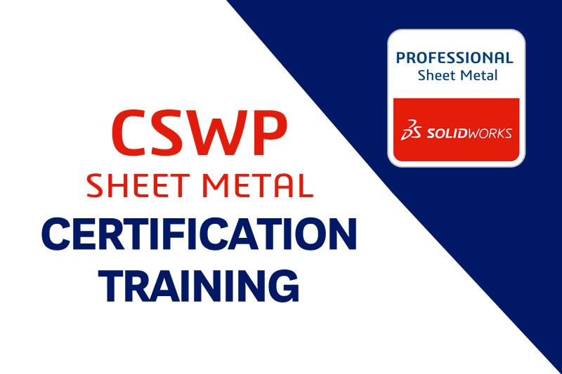solidworks sheetmetal certification in bengaluru